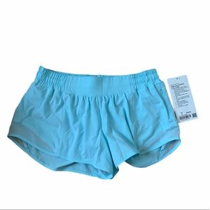 "Lululemon hotty hot LR short 2.5"" lined"